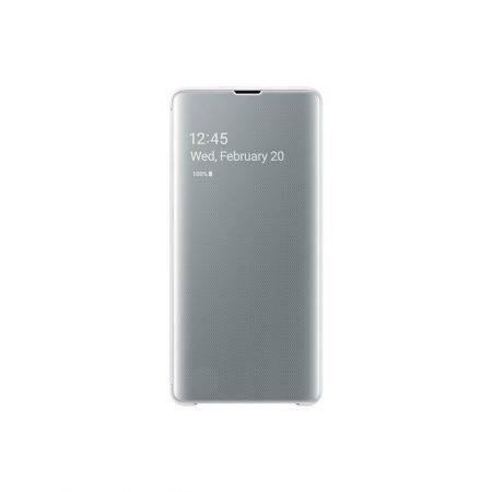 قیمت خرید کاور هوشمند گوشی سامسونگ اس 10 پلاس - Samsung Galaxy S10 Plus Clear View