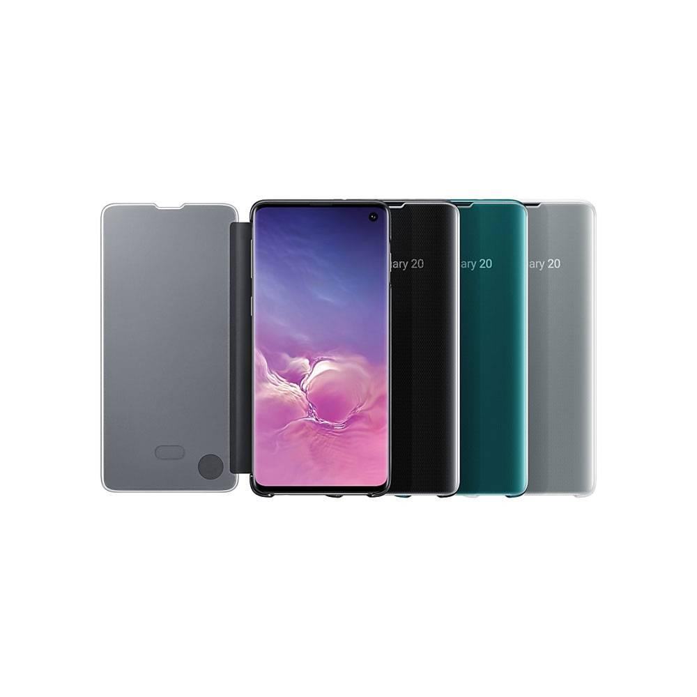 قیمت خرید کاور هوشمند گوشی سامسونگ اس 10 - Samsung Galaxy S10 Clear View