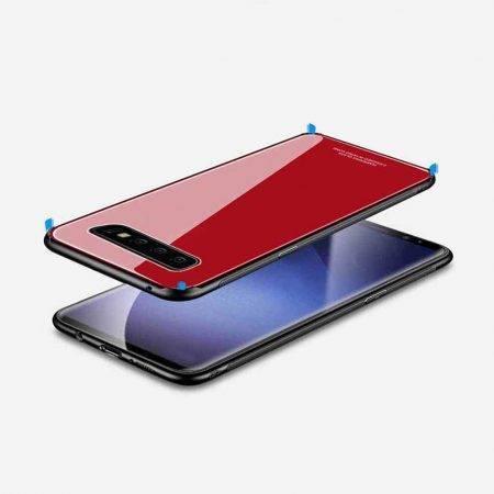 خرید قاب پشت گلس گوشی سامسونگ Samsung Galaxy S10 مدل JZZS