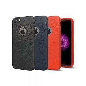خرید کاور طرح چرمی اتو فوکوس گوشی آیفون iPhone 6 / 6s