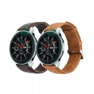 خرید بند سامسونگ Galaxy Watch 46mm چرمی Genuine Leather