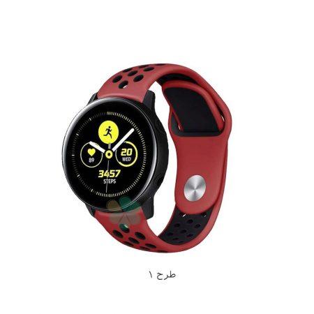 خرید بند ساعت سامسونگ Galaxy Watch Active مدل سیلیکونی نایکی