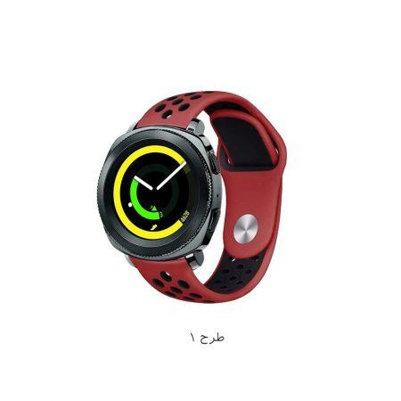 خرید بند ساعت سامسونگ Gear Sport مدل سیلیکونی نایکی