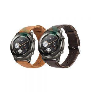 بند ساعت Huawei Watch 2 Classic چرمی Genuine Leather