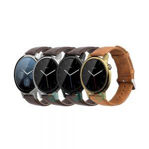خرید بند ساعت موتورولا Moto 360 46mm چرمی Genuine Leather