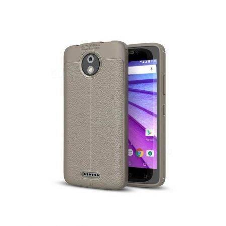 خرید کاور طرح چرمی اتو فوکوس گوشی موتورولا Motorola Moto C Plus