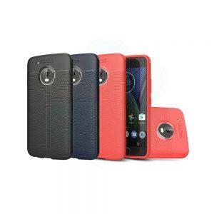 خرید کاور طرح چرمی اتو فوکوس گوشی موتورولا Motorola Moto G5 Plus