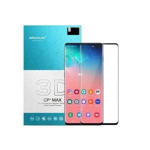 خرید گلس 3D نیلکین گوشی سامسونگ Samsung S10 Plus مدل CP+ Max