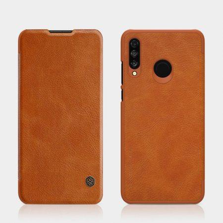 خرید کیف چرمی نیلکین گوشی هواوی Huawei P30 Lite / nova 4e مدل Nillkin Qin
