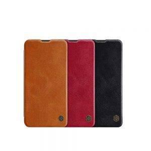 خرید کیف چرمی نیلکین گوشی سامسونگ Samsung Galaxy M20 مدل Nillkin Qin