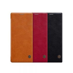 خرید کیف چرمی نیلکین گوشی سونی Sony Xperia 10 Plus مدل Nillkin Qin