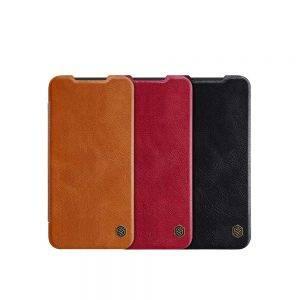 خرید کیف چرمی نیلکین گوشی شیائومی Xiaomi Mi 9 SE مدل Nillkin Qin