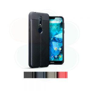 خرید کاور طرح چرمی اتو فوکوس گوشی نوکیا 7.1 - Nokia 7.1