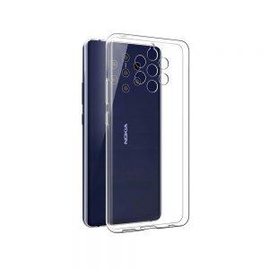 خرید قاب ژله ای شفاف گوشی نوکیا Nokia 9 PureView مدل Clear TPU