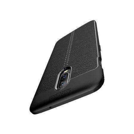 خرید کاور طرح چرمی اتو فوکوس گوشی وان پلاس OnePlus 6T
