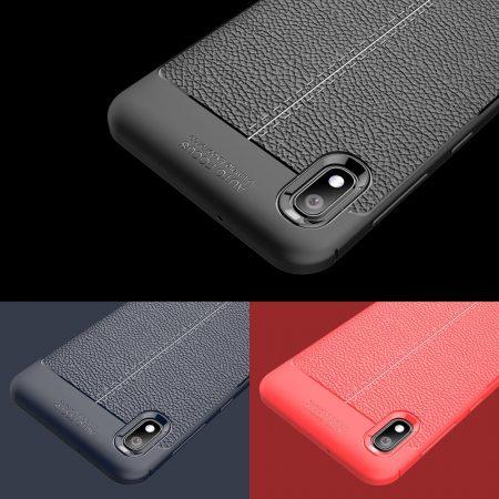 خرید کاور طرح چرمی اتو فوکوس گوشی سامسونگ Samsung Galaxy A10