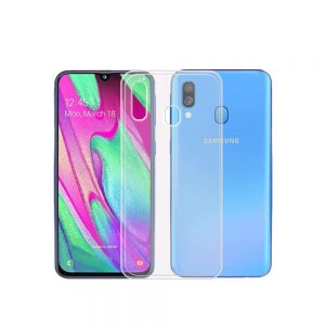 خرید قاب ژله ای شفاف گوشی سامسونگ Samsung Galaxy A40 مدل Clear TPU