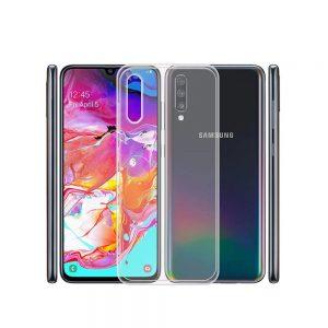 خرید قاب ژله ای شفاف گوشی سامسونگ Samsung Galaxy A70 مدل Clear TPU