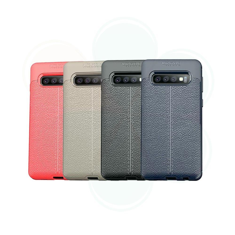 خرید کاور طرح چرمی اتو فوکوس گوشی سامسونگ Samsung Galaxy S10