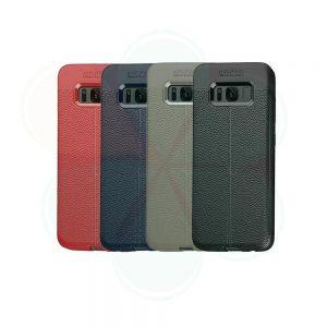 خرید کاور طرح چرمی اتو فوکوس گوشی سامسونگ Samsung Galaxy S8 Plus