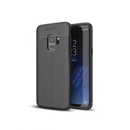 خرید کاور طرح چرمی اتو فوکوس گوشی سامسونگ Samsung Galaxy S9