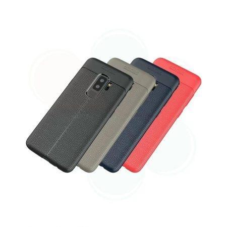 خرید کاور طرح چرمی اتو فوکوس گوشی سامسونگ Samsung Galaxy S9 Plus