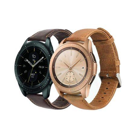 خرید بند سامسونگ Galaxy Watch 42mm چرمی Genuine Leather