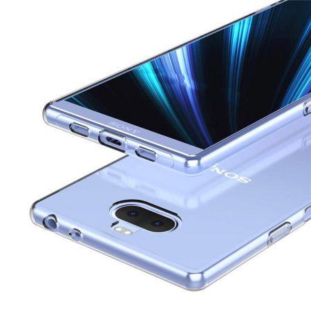 خرید قاب ژله ای شفاف گوشی سونی Sony Xperia 10 Plus مدل Clear TPU
