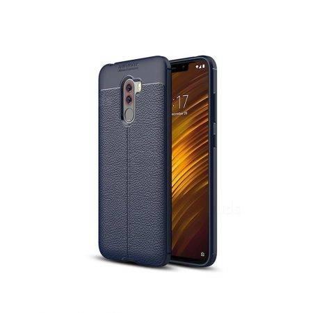 خرید کاور طرح چرمی اتو فوکوس گوشی شیائومی Xiaomi Pocophone F1