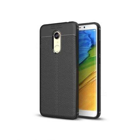 خرید کاور طرح چرمی اتو فوکوس گوشی شیائومی ردمی 5 پلاس / Redmi Note 5