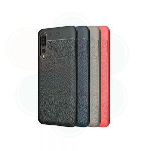 خرید کاور طرح چرمی اتو فوکوس گوشی هواوی Huawei P20 Pro
