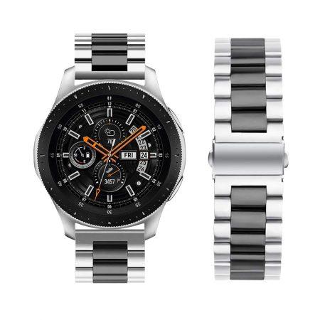 خرید بند ساعت سامسونگ Galaxy Watch 46mm مدل استیل دو رنگ