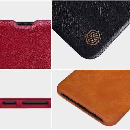 خرید کیف چرمی نیلکین گوشی سامسونگ Galaxy A70s مدل Qin