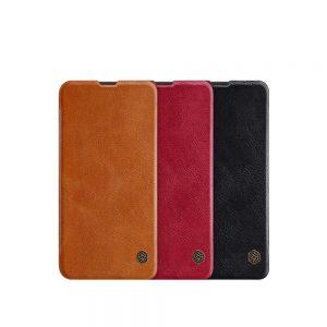 خرید کیف چرمی نیلکین گوشی سامسونگ Samsung Galaxy A10 مدل Nillkin Qin