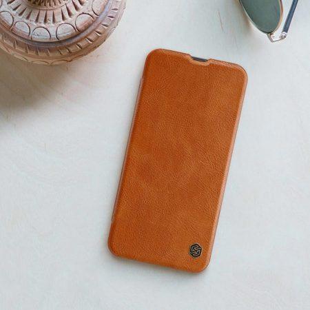 خرید کیف چرمی نیلکین گوشی سامسونگ Samsung Galaxy A40 مدل Nillkin Qin