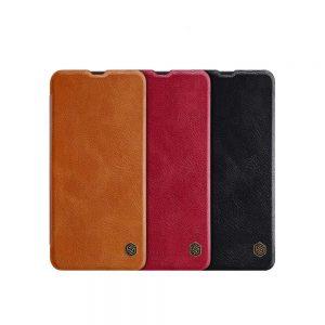 خرید کیف چرمی نیلکین گوشی سامسونگ Samsung Galaxy A50 مدل Nillkin Qin
