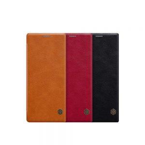 خرید کیف چرمی نیلکین گوشی سونی Sony Xperia 1 / XZ4 مدل Nillkin Qin