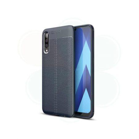 خرید کاور طرح چرمی اتو فوکوس گوشی سامسونگ Samsung Galaxy A50