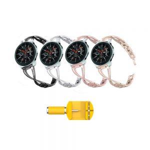 خرید بند ساعت سامسونگ Galaxy Watch 46mm مدل استیل X-Link