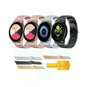 خرید بند ساعت Samsung Galaxy Watch Active استیل 3Pointers