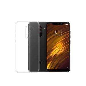 خرید قاب ژله ای شفاف گوشی شیائومی Xiaomi Pocophone F1 مدل Clear TPU