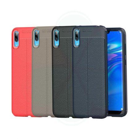 خرید کاور طرح چرمی اتو فوکوس گوشی هواوی Huawei Y7 Pro 2019