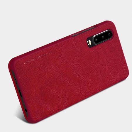 خرید کیف چرمی نیلکین گوشی هواوی Huawei P30 مدل Nillkin Qin