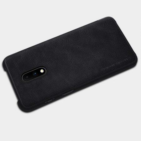 خرید کیف چرمی نیلکین گوشی وان پلاس OnePlus 7 مدل Nillkin Qin