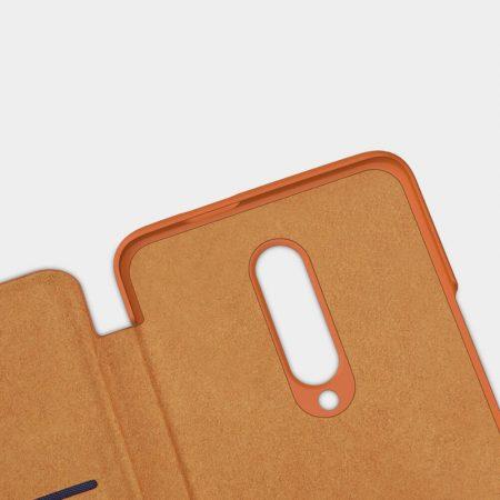 خرید کیف چرمی نیلکین گوشی وان پلاس OnePlus 7 Pro مدل Nillkin Qin