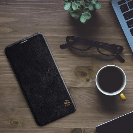 خرید کیف چرمی نیلکین گوشی سامسونگ Samsung Galaxy A60 مدل Nillkin Qin