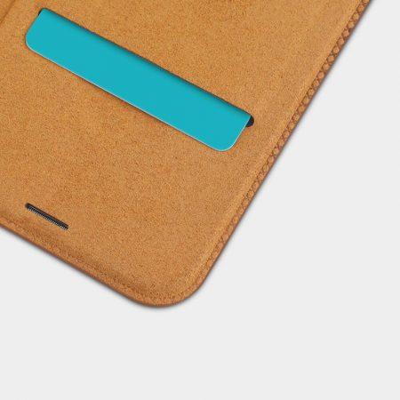 خرید کیف چرمی نیلکین گوشی شیائومی Xiaomi Redmi Note 6 Pro مدل Nillkin Qin