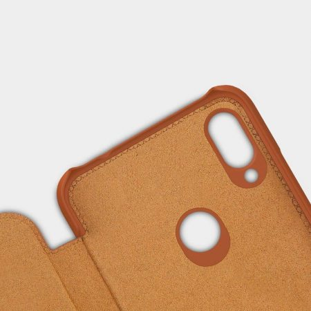 خرید کیف چرمی نیلکین گوشی شیائومی Xiaomi Redmi Note 7 Pro مدل Qin