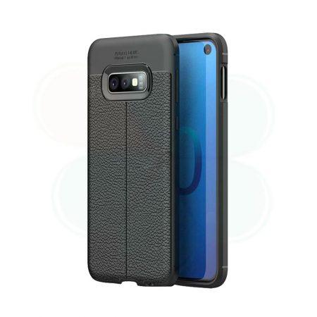 خرید کاور طرح چرمی اتو فوکوس گوشی سامسونگ Samsung Galaxy S10e