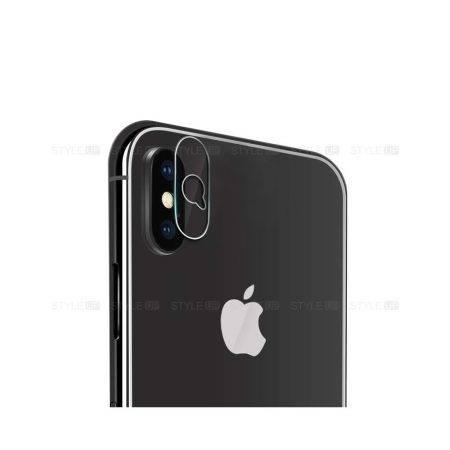 خرید محافظ لنز دوربین گوشی آیفون iPhone X / 10 مدل گلس 9